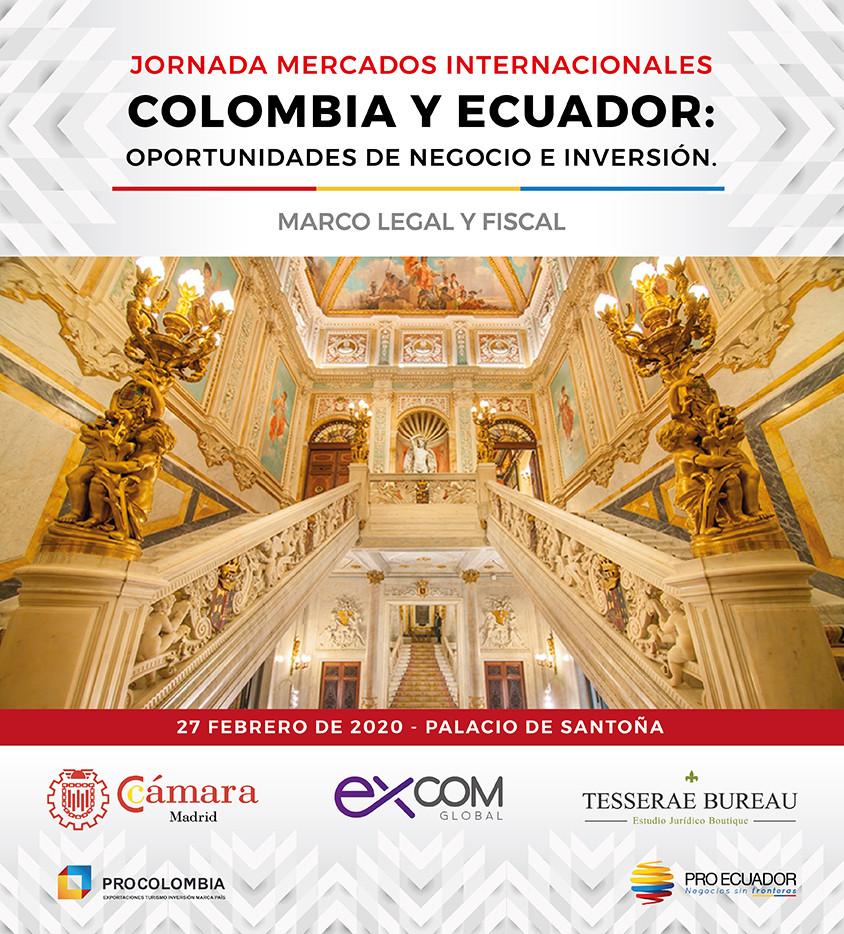 Madrid, Palacion de Santoña, Jornada Cámara Comercio.