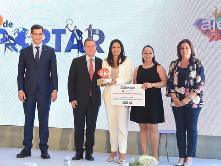 Excom Solutions recibe el premio AJE Castilla-La Mancha Internacional