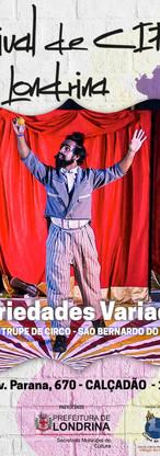 15º Festival de circo de Londrina