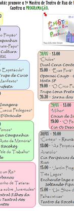 1ª Mostra de Teatro de Rua de Pareclheiros - São Paulo