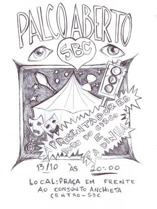 Palco Aberto - Encontro de Malabares e Circo de SBC - São Bernardo do Campo