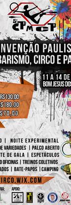 V Convenção Paulista de Malabares, circo e palhaços - Bom Jesus dos Perdões