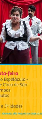 1º Festival do Riso - Casa do Teatro - Amparo