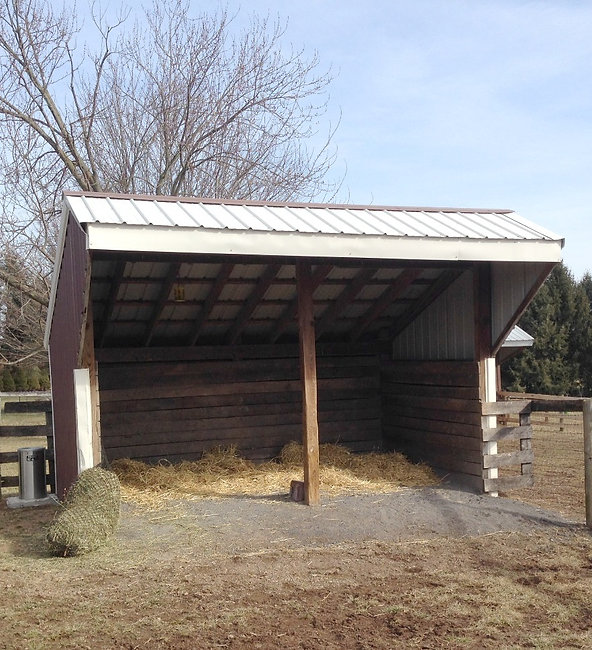 Private Turnout Shed