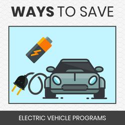 Ways to Save - EVs