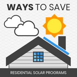 Ways to Save - Solar