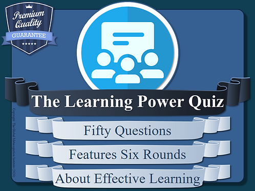 The Learning Power Quiz