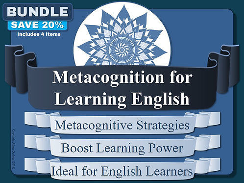 Metacognition - The English Language Teachers' Pack