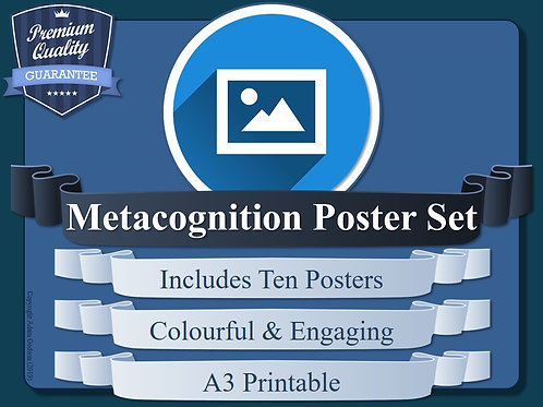Metacognition Poster Set
