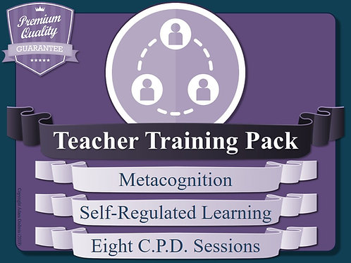 Teacher Training Resources: Metacognition & Self-Regulated Learning