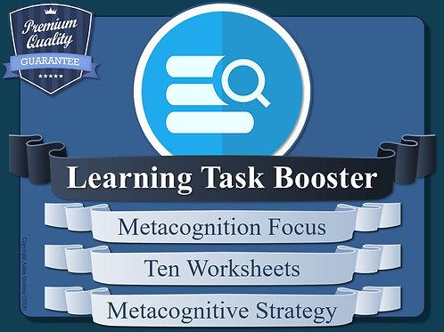 Task Focused Metacognition Worksheets