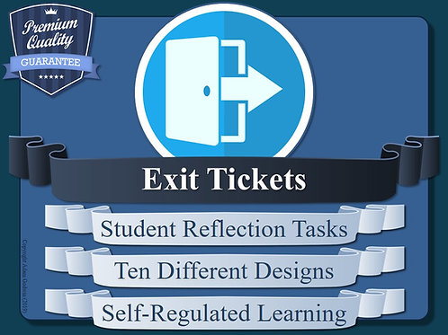 Metacognition Exit Tickets (x10)
