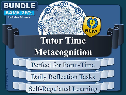 Tutor-Time Metacognition & Self-Regulated Learning Resources