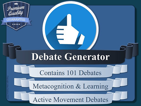 The Metacognitive Debate Generator