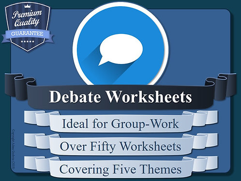 Metacognition - Group Debate Worksheet Sessions