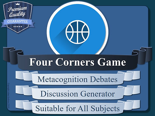 The Four Corners Metacognition Game