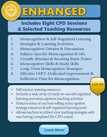 Metacognition Teacher Training CPD Inset