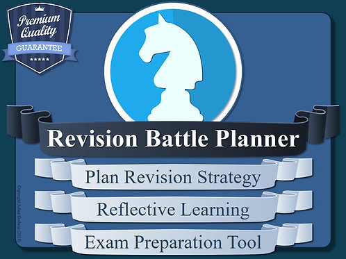 The Revision Strategy Battle Planner!