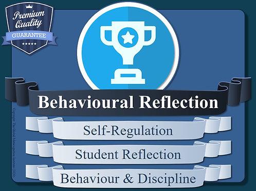 Behavioural Reflection Worksheets