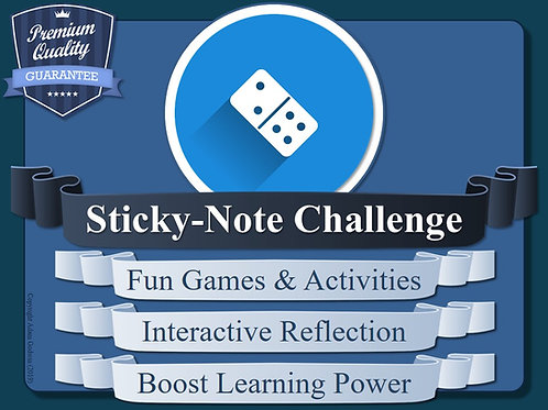Metacognition Sticky-Note Challenges!
