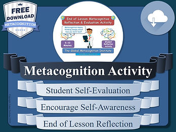 Free Metacognition Activity