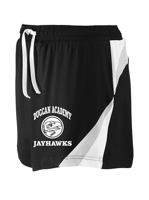 Ladies Jayhawks Logo Athletic Shorts