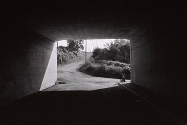 Concrete Highway Bridge  Acrcozelo, Portugal   . Analogic 2018 © Jérémy Pernet