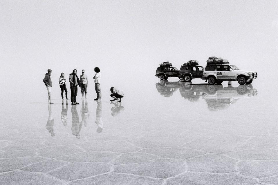 Salar de Uyuni  Uyuni, Bolivia  . Analogic 2016 © Jérémy Pernet