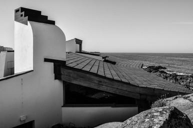 Casa de Chá da Boa Nova (1958-1963),  Álvaro Siza Vieira  Leça da Palmeira, Portugal  .Digital 2015 © Jérémy Pernet