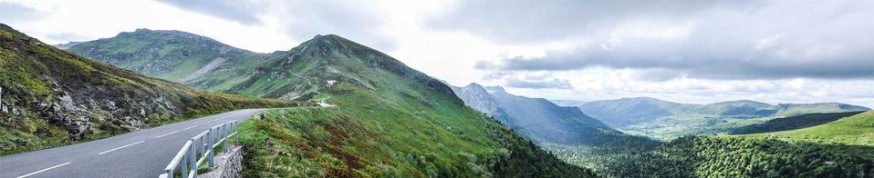 GR400 Monts du Cantal  Cantal, France  .Digital 2015 © Jérémy Pernet