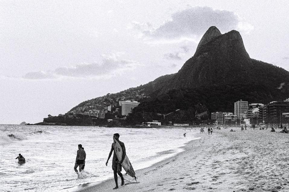 Praia de Ipanema Rio de Janeiro, Brasil  . Analogic 2016 © Jérémy Pernet