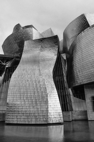 Museo Guggenheim Bilbao (1992-1997) Frank Gehry Bilbao  .Digital 2014 © Jérémy Pernet