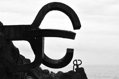 El Peine del Viento Eduardo Chilida, San Sebastián, España  .Digital 2014 © Jérémy Pernet