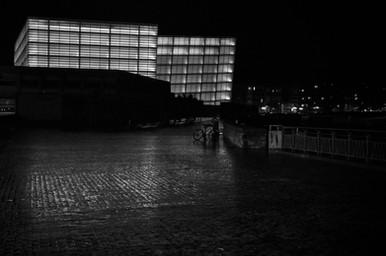 Palacio de Congresos y Auditorio Kursaal (1965-1973) Rafael Moneo  San Sebastián  .Digital 2014 © Jérémy Pernet
