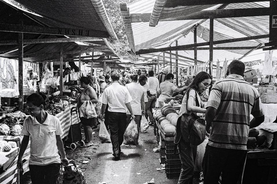 Mercado São Paulo, Brasil  . Analogic 2016 © Jérémy Pernet
