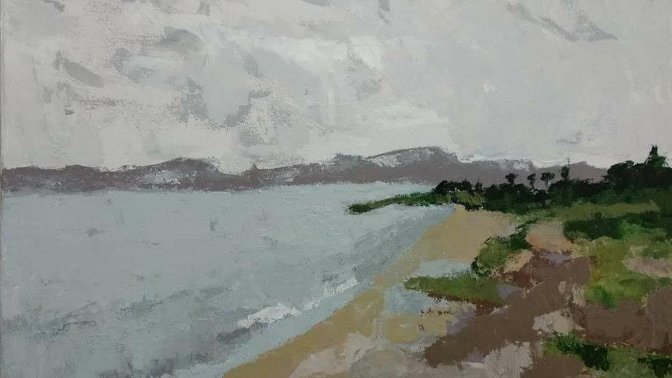 חוף חוקוק על שפת הכנרת