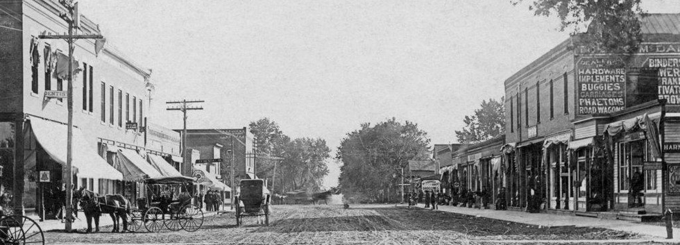 Tabor Iowa Main Street