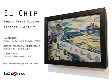 """EXPOSICIÓN DE PINTURA """"El Chip"""" de Hannah Perry"""