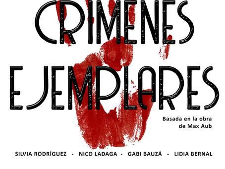 """TEATRO: """"Crímenes Ejemplares"""" Cía. Cámara de Teatro, basada en la obra homónima de Max Aub"""