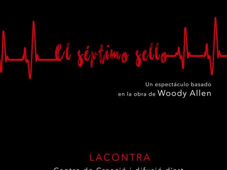 """TEATRO """"EL SÉPTIMO SELLO"""" de Woody Allen. Cía. Cámara de Teatro. Sábado, 13 de julio 2019,"""