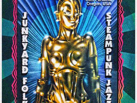 "Concierto ""PROFESSOR GALL"" (Junkyard Folk/Steampunk Jazz) Portland, USA"