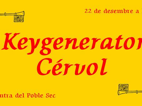 """Concierto: """"Cérvol""""(Rock Alternativo) + """"Keygenerator"""" (Indie Folk)"""