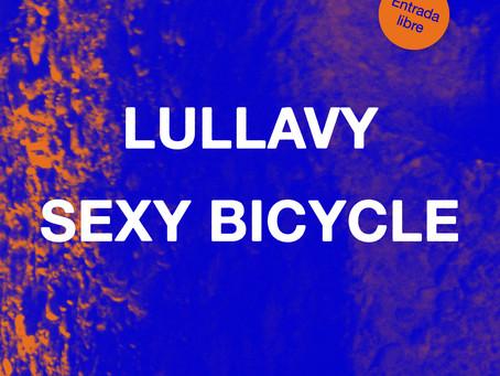 """Concierto: """"Lullavy"""" (Indie-Rock) + """"Sexy Bicycle"""" (Anti-Folk / Post-Punk)"""