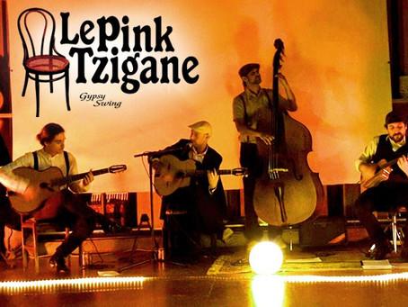 """Concierto """"LE PINK TZIGANE"""" (Gypsy Swing)"""
