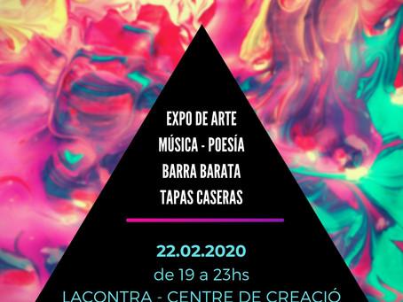"""""""PURA LIBERACIÓN"""" Exposición Colectiva, Música & Poesía. Única fecha."""