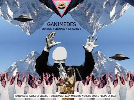 """Inauguración Exposición Colectiva """"GANIMEDES"""" de Ganimedes (Violeta Veleta + Guibernau), I"""
