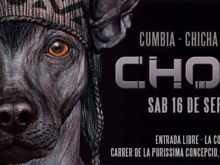 """Sesión Dj Coco Selekta + Concierto """"C.H.O.L.O"""" (Cumbia/Chicha/Salsa/Rap/Reggae)"""