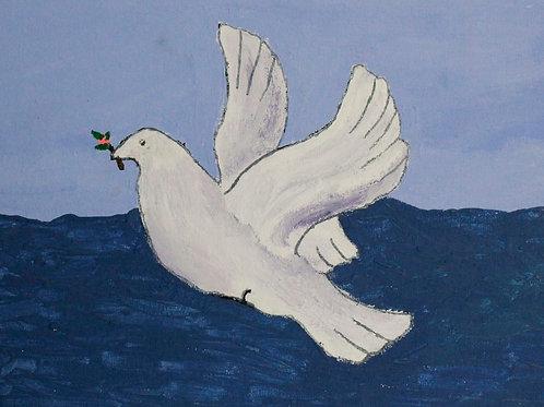 Dove with branch, Luka Piroski