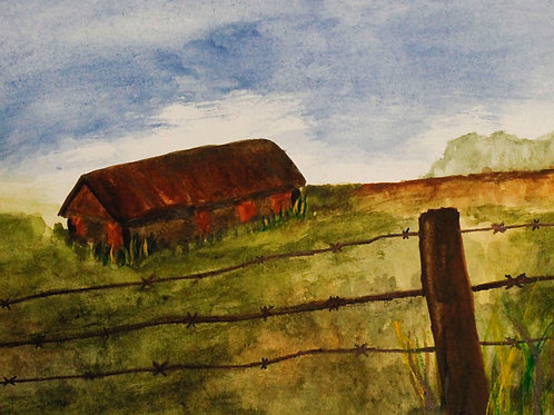Red Barn, Katherine Arroyo