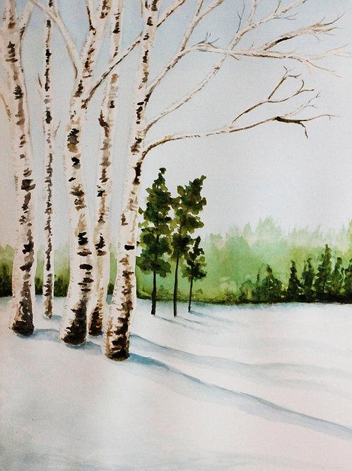 Winter Idyll, Ana Korac